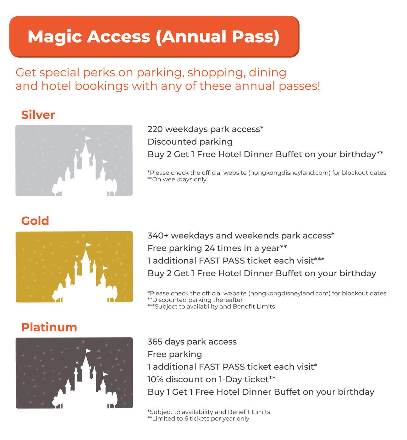 Enjoy one year of Magic Access!